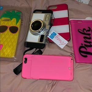iPhone cases 6/7/8+